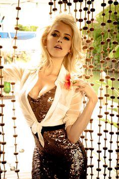Amber Heard http://www.beautybodybook.com