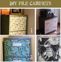 Makeover File Cabinet