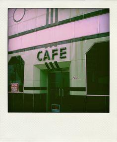 the (former) White Palace Cafe | Gadsden, Alabama.