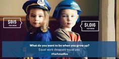 Wat voor toekomst wil jij voor je dochter? #FairFutureNow #EqualPay pic.twitter.com/Y6tpmV0rDq