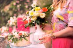 #celebratecolorfully florals by @Devon Gregory Rachel