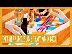 DIY Herringbone Box and Tray - HGTV Handmade