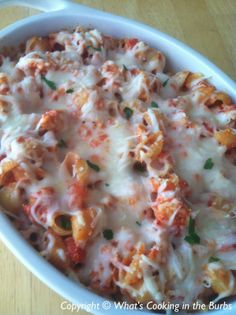 Chicken Parmesan Casserole - 6 WW Points