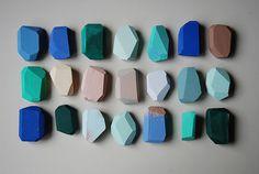 // wood + shape + color