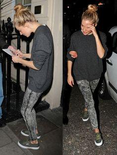 Street style: Sienna Miller & Superga sneakers