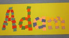 Craft Project: Nameplate Mosaics