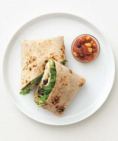 Chicken and Quinoa Burritos recipe