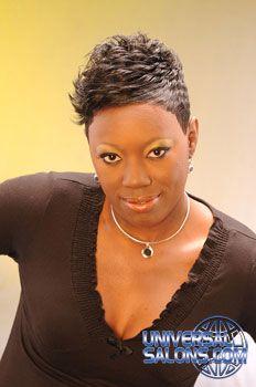 short styles for black hair on pinterest black women