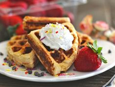 My Gluten Free Protein Waffles recipe on the Huffington Post!