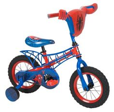Huffy Bicycle Company Ultimate Spiderman Bike, 12-Inch