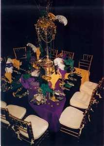 Mardi Gras Ball Reserved Table