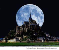 Mount St. Michel, Normandy, France