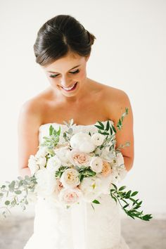#Bouquet | #Gold #Glamour #WeddingInspiration | See more on SMP -- http://www.StyleMePretty.com/utah-weddings/salt-lake-city/2014/01/10/golden-glamor-wedding-inspiration/