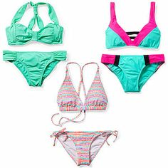 Get a lift (and more support up top) with these cute, sporty swimsuits