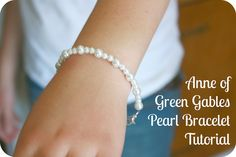 Anne of Green Gables Pearl Bracelet Tutorial - Chocolate On My Cranium for @Patricia Blank