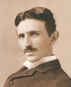 tesla. hot like a million volts and totally freaked out by women.  my kind of man.