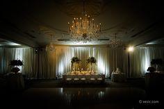 Wedding Party Table at Carolina Inn in Chapel Hill, NC: vesic.com