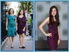 Great Bat Mitzvah dress for the Mom and the daughter!