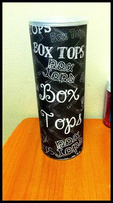 Just Wild About Teaching: Box Tops Freebie! This freebie is great for collecting and storing Box Tops through the year!