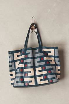 Delancey Pinball Tote #anthropologie