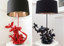 Do you yearn for some geek-gaudy home decor that truly shows off your affection for the nerdy? If so, these lamps should turn you on. Read this blog post by Christopher MacManus on Crave. lamps, robots, evil robot, toy, robot design, action figures, design lamp, diy, artsi lamp