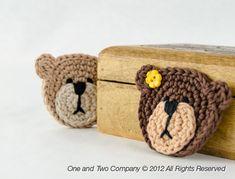 appliqu crochet, teddi bear, teddy bears, bear appliqu, crochet animals, applique patterns, shower curtains, crochet patterns, crochet appliques