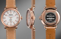"Shinola Watches Made in Detroit - ""The Runwell"""