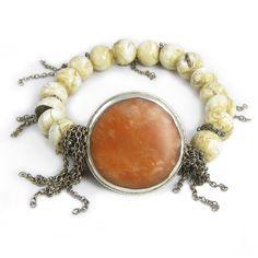 carnelian fringe bracelet Nan Fusco Jewelry