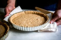 Always looking for different healthy pie crust options :: Whole-Wheat Pie Dough