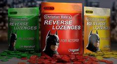 Christian Bale's Reverse Lozenges