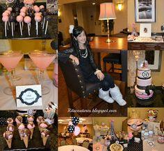 Nareen's Paris theme Birthday party
