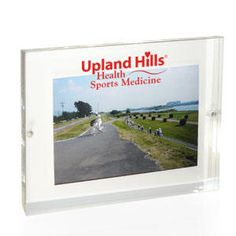 Lucite Magnetic Photo Frames