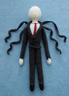 Amigurumi Slender Man : Slender Man on Pinterest Slender Man, Minecraft Skins ...