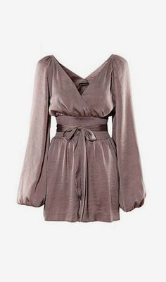 Chic New Deep V Neck High Waist Coffee Rompers