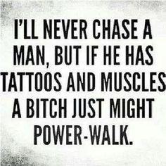 beards, cardio, power walk, powerwalk, bitch, tattoo, true stories, cat lady, boyfriends