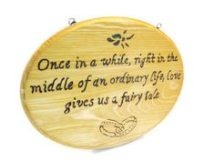Wedding Gift, Sentimental quote on love and marriage.  Ready to hang, wood art.. $40.00, via Etsy.
