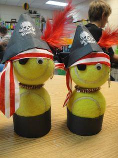 Tennis ball pirates!