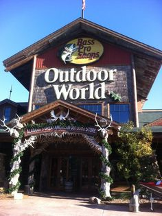 every country girl knows her way to the Bass Pro Shop