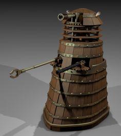 Dalek da Vinci