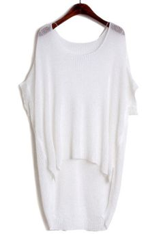 White loose sweater - love this