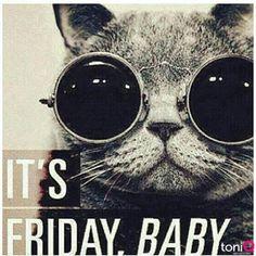 art work, friday babi, friday weekend, weekend friday, awesom weekend, humor, weekends quotes, weekend quotes, tgif