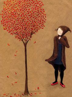 Ha, that's me enjoying the autumn wind