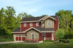 Tell us what you like best about this brand new two story farm #houseplan featuring an open floor plan and plenty of amenities for its 1,444 s.f. footprint. http://www.thehousedesigners.com/plan/7133/