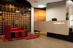 The Pantone Hotel in Belgium