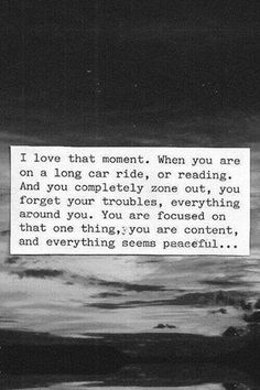 ... when you completely zone out... ~ #quote #peaceful