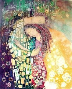 Whatever I was looking for was always you. Rumi. Art credit Ellie Reznikov.