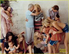 keith richards family portait