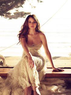 White dress sparkles