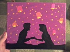 Tangled canvas