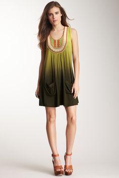 Ombre Crochet Dress